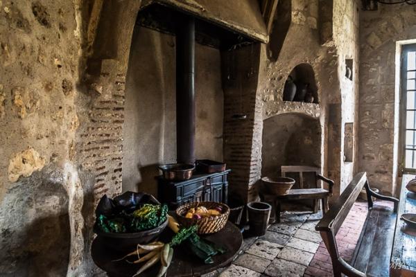 La cuisien du château de Meung-sur-Loire