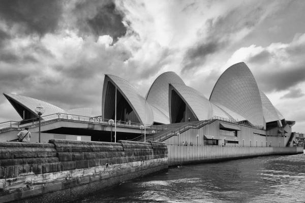 L'Opera de Sydney sous un angle pas commun