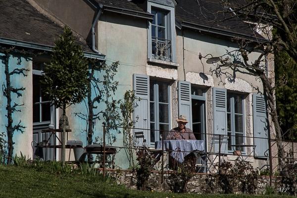 La maison bleue de Lestiou