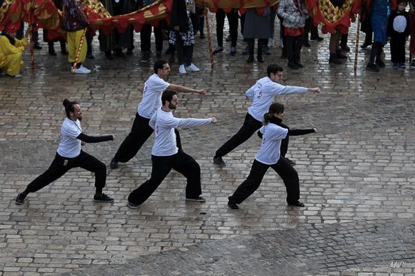 Démonstration de Kung-Fu