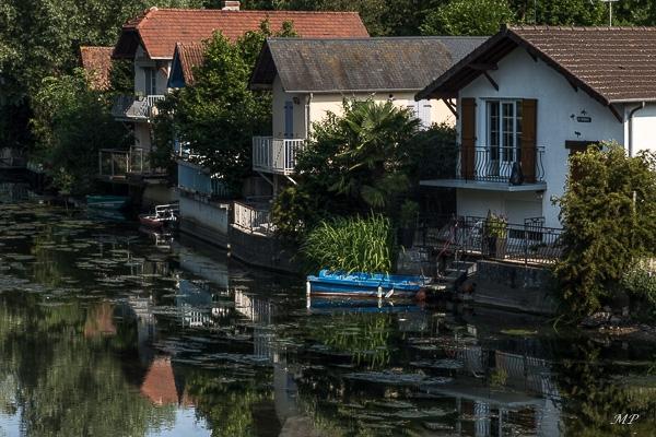 Les maisons du bord du Loiret