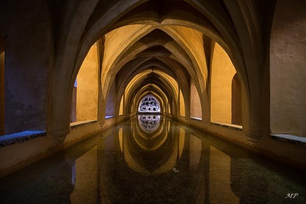 Séville - L'Alcazar - Les bains de Dona Maria de Padilla