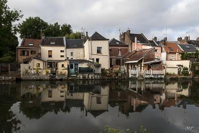 Rive de la Somme à Amiens