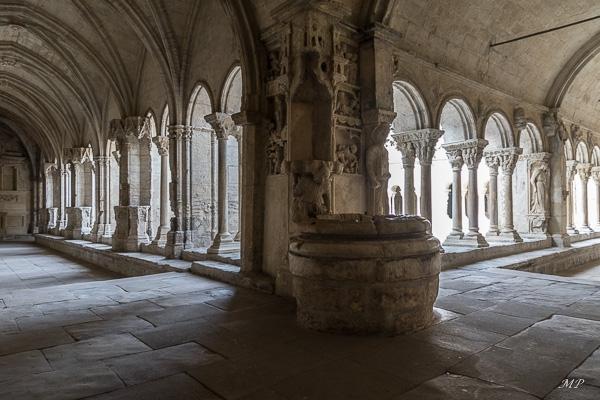 Le cloître Saint-Trophime à Arles