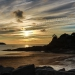 Coucher de Soleil sur la plage Du Guesclin à St-Coulomb