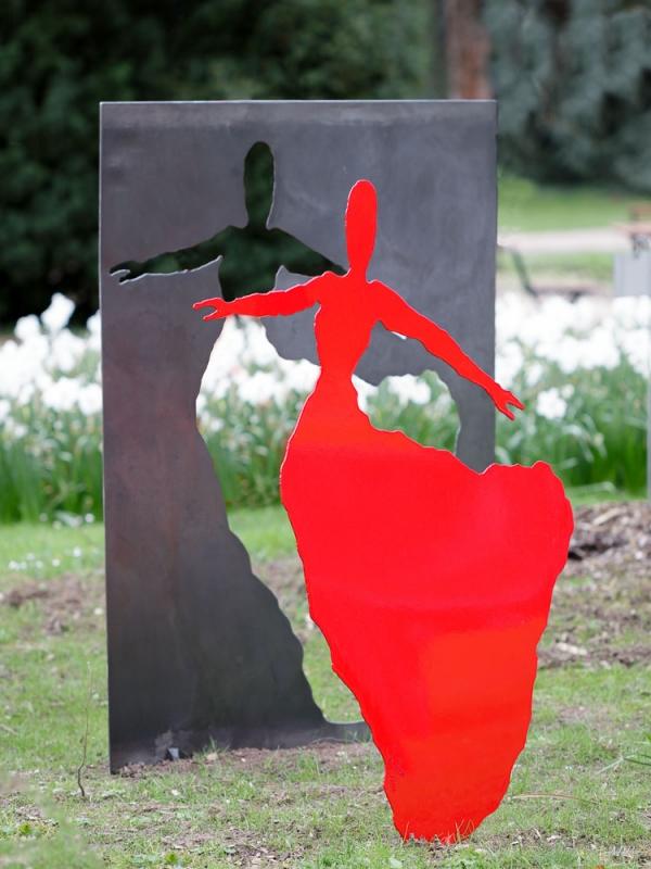 Sculptures paysagères de Chloé Leray