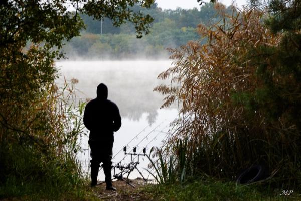 Pêcheur à l'Etang de la Vallée