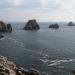 La Bretagne - La Pointe de Penhir sur la Presqu'île du Crozon