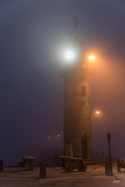 Cancale sous la brume