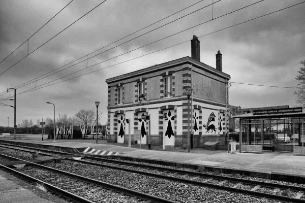 Gare de la Gouesnière en Ille-et-Vilaine