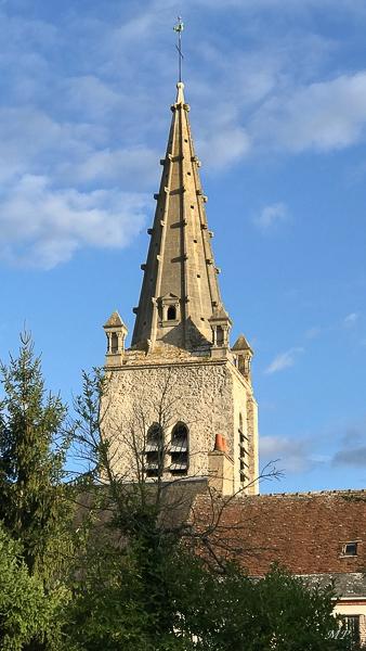 Clocher de l'église de St-Hilaire