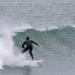 Surfeurs à la Pointe de la Torche (Morbihan)