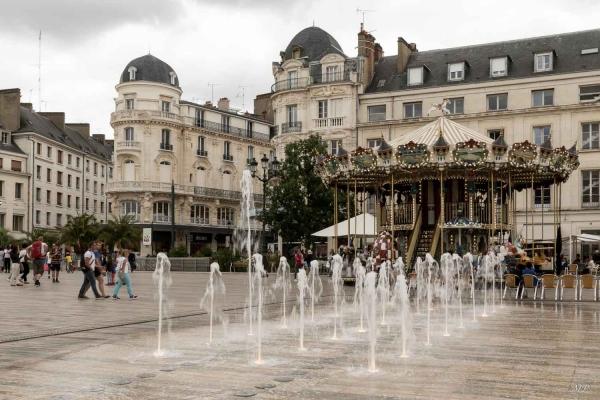Place du Martroi-Orleans