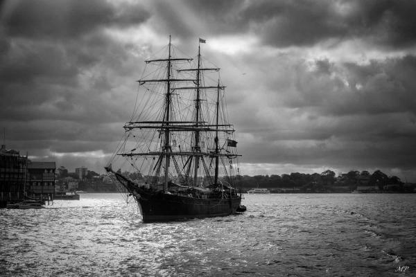 Voilier dans la rade de Sydney