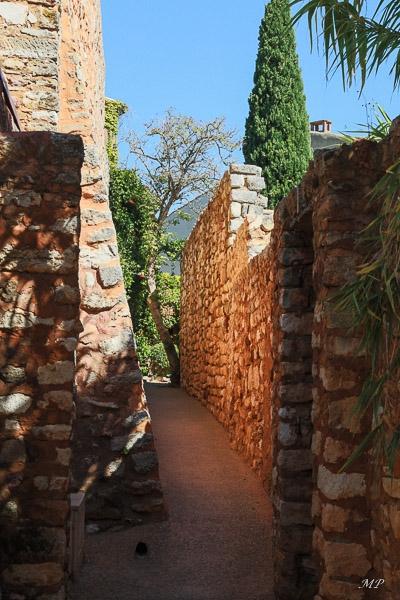 Ruelle de Roussillon en Provence